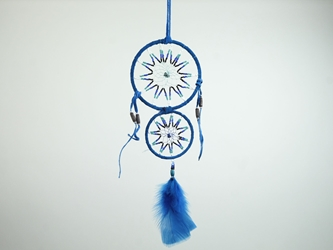 Mother & Child Leather Wrapped Dreamcatcher
