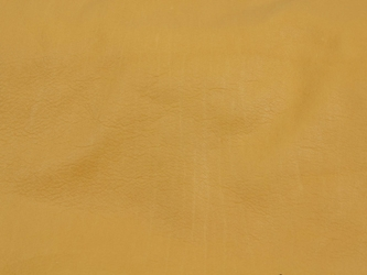 Deertanned Cow Leather: Side: Gold: 5-5.5 oz (sq ft)