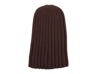 100% Merino Wool Hat: Brown