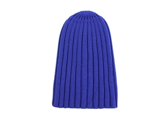100% Merino Wool Hat: Royal Blue