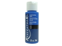 Acrylic Leather Paint: Blue (2 ounce bottle) acrylic leather paints, real leather paints