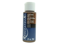 Acrylic Leather Paint: Bronze (2 ounce bottle) acrylic leather paints, real leather paints