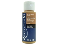 Acrylic Leather Paint: Light Brown (2 ounce bottle) acrylic leather paints, real leather paints