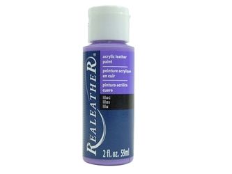 Acrylic Leather Paint: Lilac (2 ounce bottle) acrylic leather paints, real leather paints