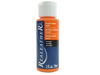 Acrylic Leather Paint: Orange (2 ounce bottle) acrylic leather paints, real leather paints