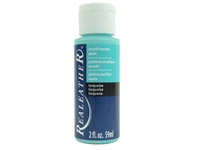 Acrylic Leather Paint: Turquoise (2 ounce bottle) acrylic leather paints, real leather paints