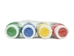 4-Pack of Acrylic Leather Paint: Primary Colors - 1348-4PC (M9)