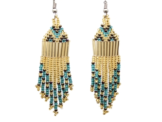 Beaded Earrings: Assorted Colors