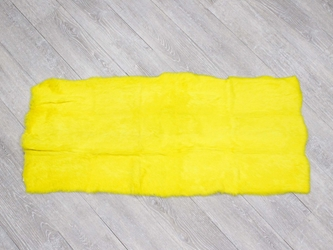 Long Hair Dyed #1 Rabbit Plate: Fluorescent Yellow