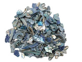 African Abalone Pieces: Assorted Sizes: Blue (kg)