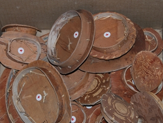 Attikamek Birchbark Rogan Lids (Various Sizes)