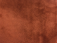 Pig Suede Leather: Tannery Run: Rust (sq ft)
