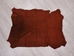 Pig Suede Leather: Tannery Run: Rust (sq ft) - 296-1-RU-AS (K11)