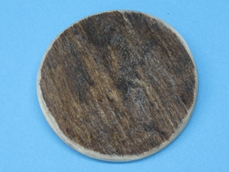 Palm-Cut 2-Hole Moose Antler Button: 2.5""
