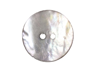 "Smoked Akoya Mother of Pearl Button: 36L (23mm or 0.9"") mother-of-pearl buttons, mother of pearl shell buttons, nacre, acoya, agoya"