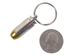 Bullet Keychain: 40 Cal S&W Nickel - All Brass - 42-40-9480A (L17)