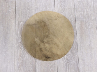 "Buffalo Rawhide Drum Cover: 15"" buffalo discs, buffalo rounds, buffalo drum covers, bison drum covers, bison discs, bison rounds"