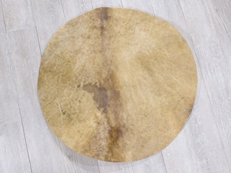 "Moose Rawhide Drum Cover: 30"" moose discs, moose rounds, moose drum covers"