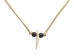 Real 1-Fox Tooth Necklace - 560-1001 (C2)