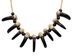 Real Black Bear 10-Claw Necklace - 560-RBC10 (Q9)