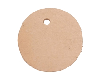 Leather Round with Hole leather rounders, leather cut-outs, leather cutouts, leather cut outs