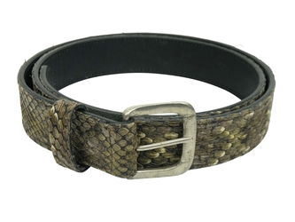 Real Rattlesnake Belt