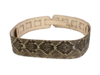 Real Rattlesnake Guitar Strap: Assorted