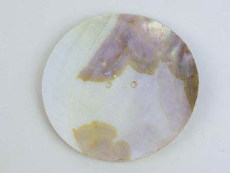 "Freshwater Mother Of Pearl Button: 140L (88.9mm or 3.5"")"