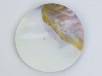 "Freshwater Mother Of Pearl Button: 160L (101.6mm or 4"")"