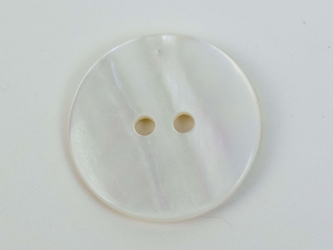 "Freshwater Mother Of Pearl Button: 32L (20.5mm or 0.807"")"