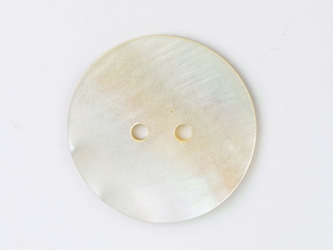 "Freshwater Mother Of Pearl Button: 60L (38mm or 1.5"")"