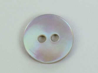 "Brown Mother Of Pearl Button: 18L (11.6mm or 0.457"")"