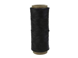 Imitation Sinew: Polypropylene: Single End: 1 oz: Black