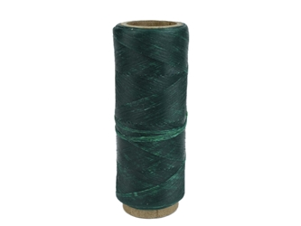 Imitation Sinew: Polypropylene: Single End: 1 oz: Emerald Green