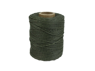 Macrame/Jewelry Twine: Polyester: 3-Ply: Waxed: 2 oz: Olive