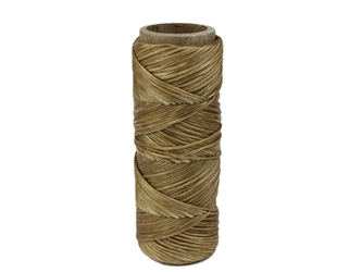Imitation Sinew: 5-Ply: Round: Polyester: 1 oz: Natural