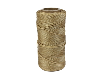 Imitation Sinew: 7-Ply: Round: Polyester: 4 oz: Natural