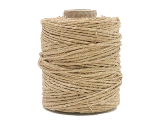 Antiqued Hemp Cord: 2-ounce Roll: Natural