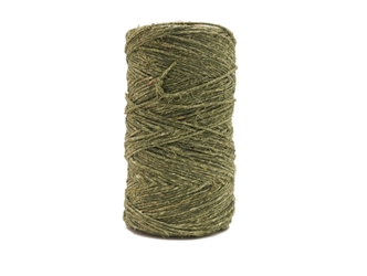 Antiqued Hemp Cord: 4-ounce Roll: Olive