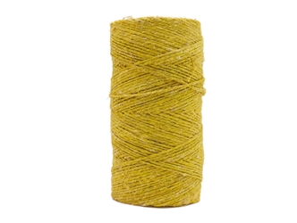 Antiqued Hemp Cord: 4-ounce Roll: Yellow