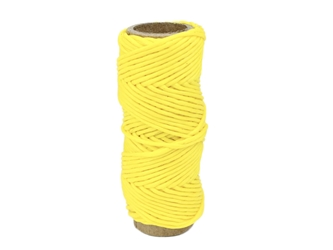 Imitation Sinew: Round: Polypropylene: 1 oz: Yellow
