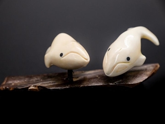 Yupik Walrus Ivory Carving: Gallery Item