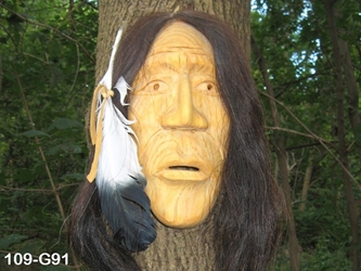 Iroquois False Face Mask: Gallery Item