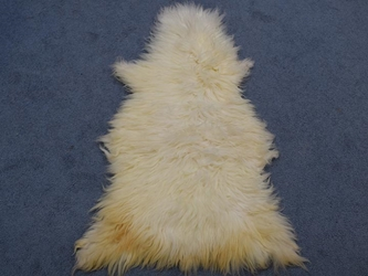 Racka Sheepskin: Creamy White: Gallery Item