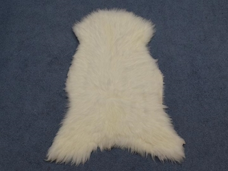 UK Sheepskin: 100-110 cm: White: Gallery Item