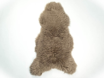UK Sheepskin: 110-120 cm: Dyed Taupe: Gallery Item