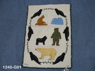 Inuit Wall Hanging: Gallery Item