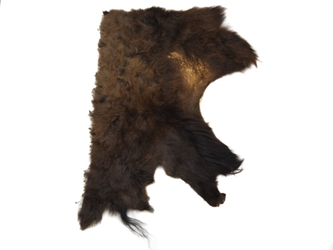 Craft Grade Buffalo Hide Piece: Gallery Item