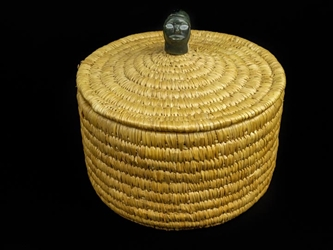 Lyme Grass Basket: Gallery Item