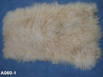 Discounted Tibet Lamb Plate: Dyed Blonde: Gallery Item